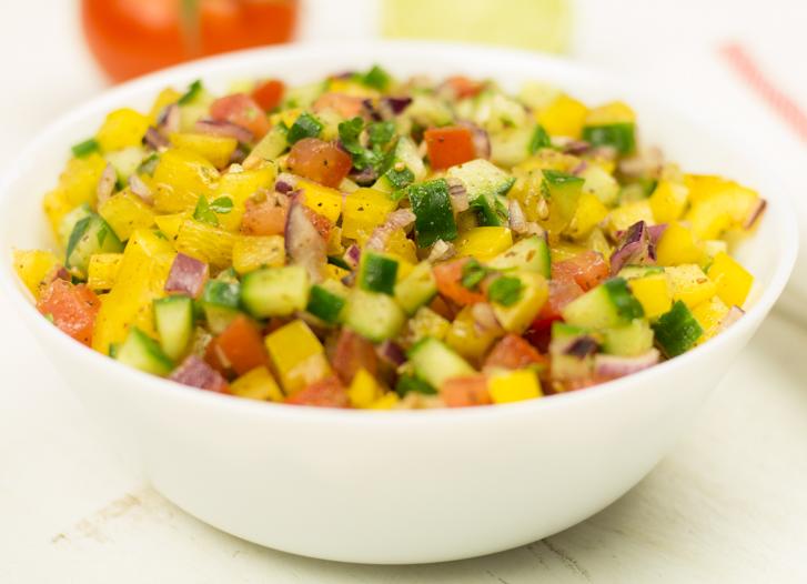Israëlische salade