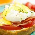 Eggs Benedict met Hollandaisesaus