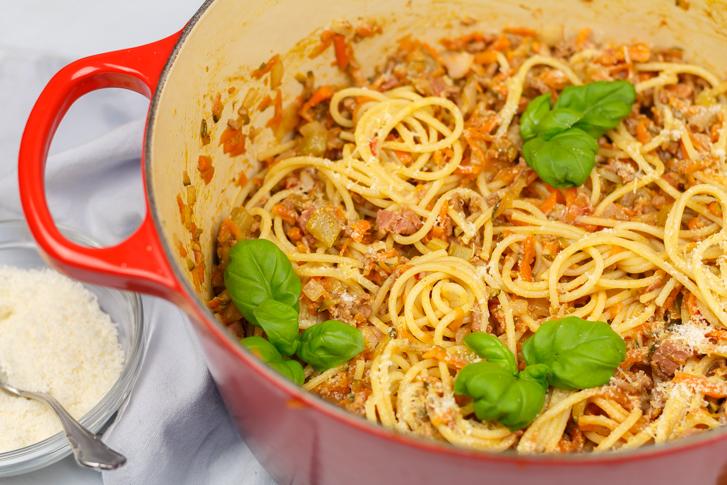 Recept snelle spaghetti bolognese