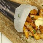 Truffelfrietjes met Parmezaanse kaas