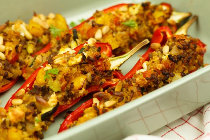 Recept gegrilde paprika