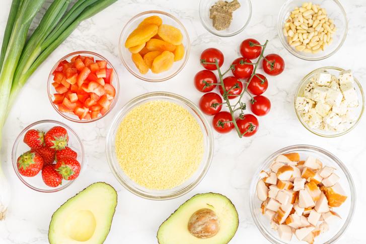 Couscous salade recept