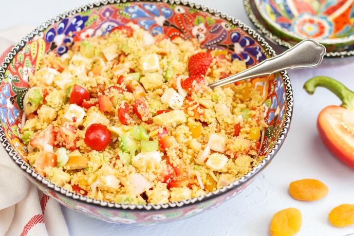 Couscous salade kip