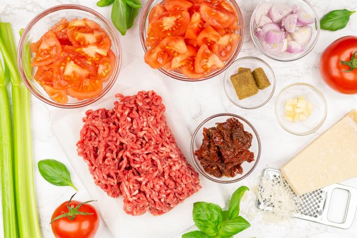 Italiaanse tomatensoep ingrediënten