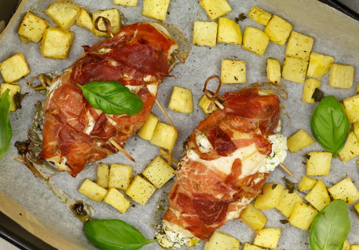 Ovenschotel! Kipfilet op Italiaanse wijze