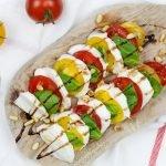 Salade caprese recept