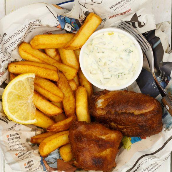 Real English Fish and chips