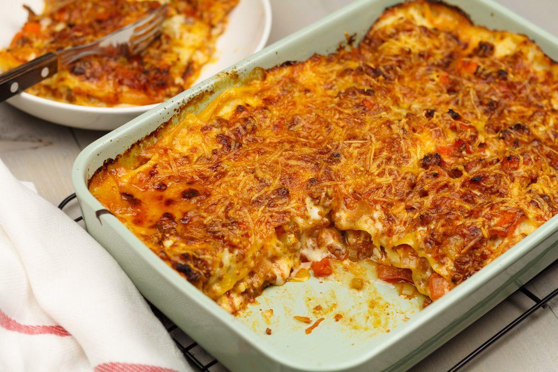 recept lasagne met bechamelsaus
