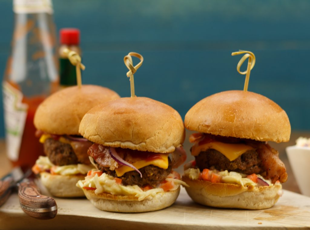 Mini hamburgers maken