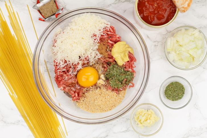 Spaghetti met balletjes recept