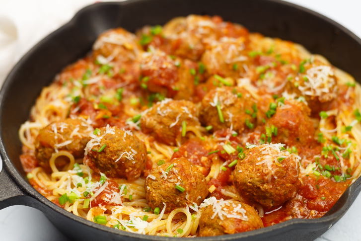 Spaghetti met balletjes