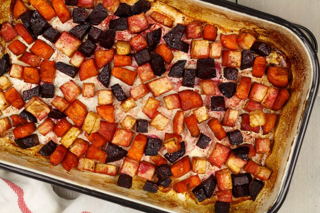 Vergeten groenten ovenschotel