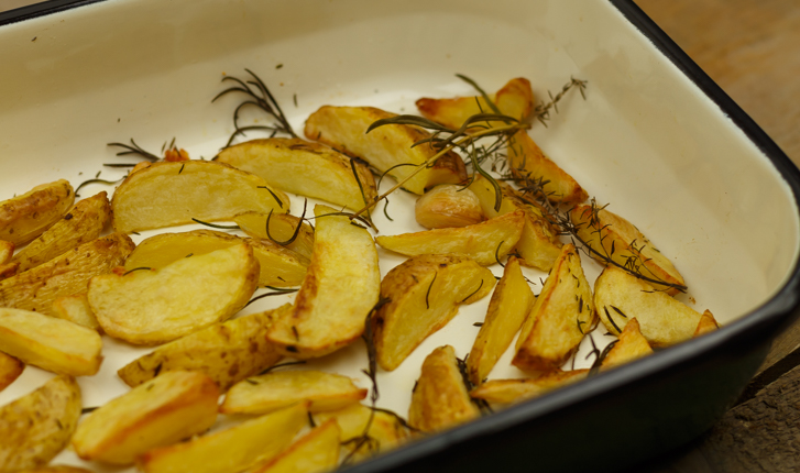 Aardappeltjes rozemarijn