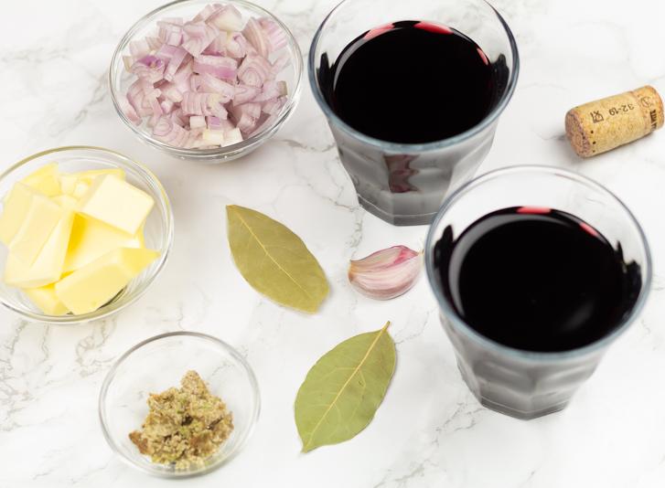 Rode wijnsaus recept