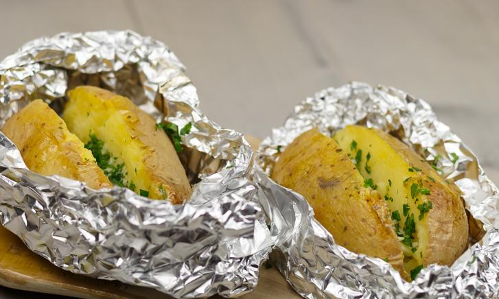 Gepofte aardappel recept