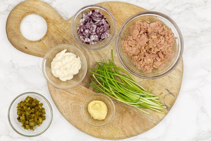 Tonijnsalade maken