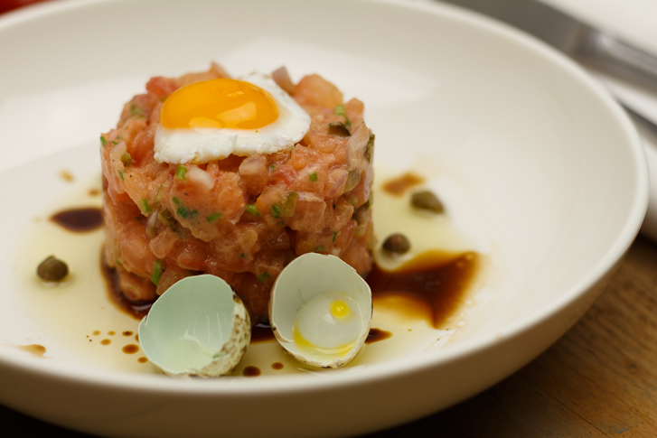 Vegetarische steak tartare