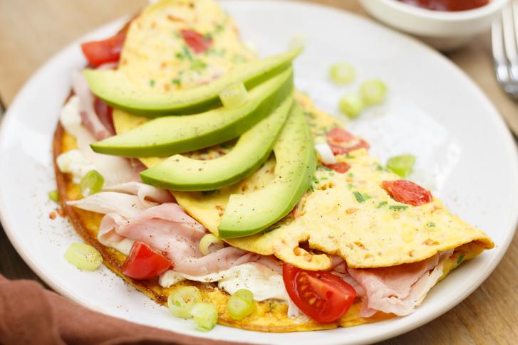 California style omelet recept