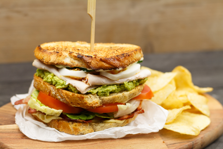 Club sandwich recept