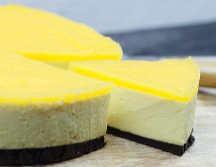 Mango cheesecake recept