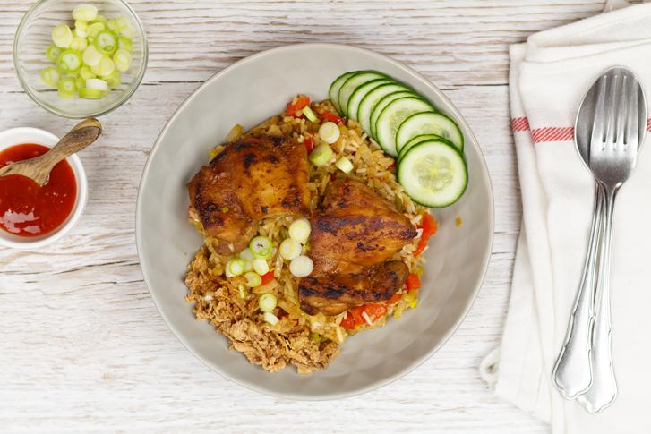 Indische kip recept