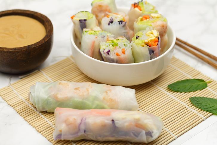 Vietnamese springrolls recept