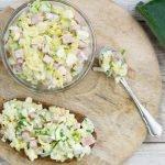 Ham-prei salade