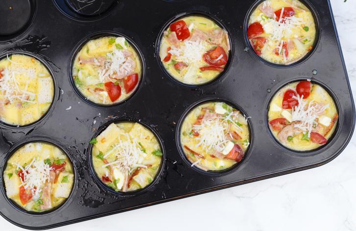 Ontbijtmuffins recept