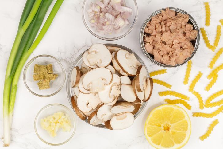 Pasta tonijn ingrediënten