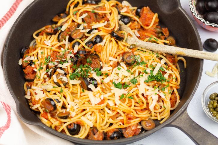Spaghetti alla puttanesca recept