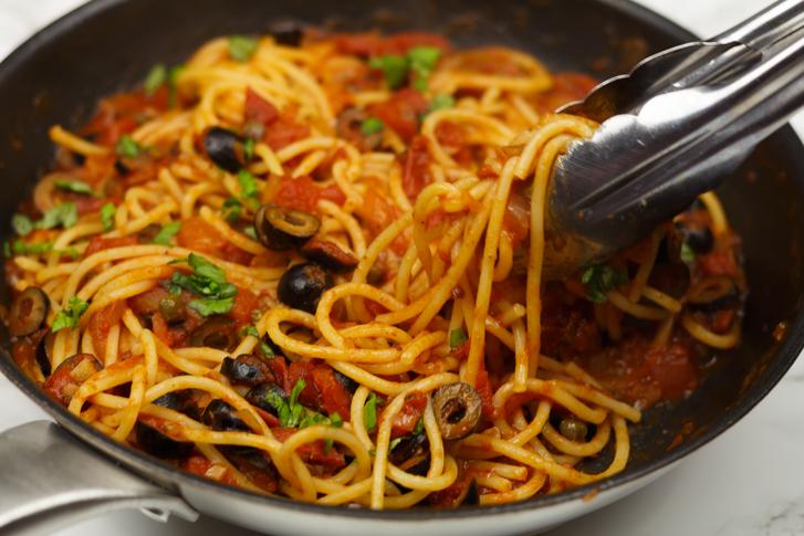Spaghett puttanesca