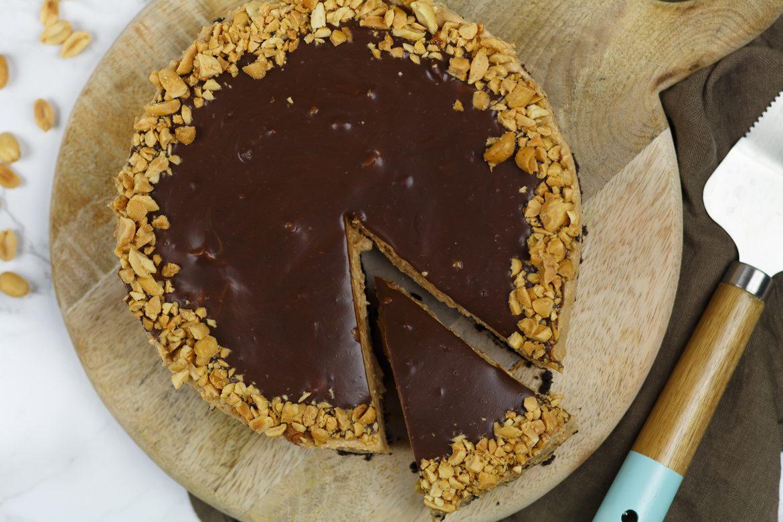 Tony's Chocolonely pindakaas cheesecake