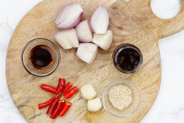 Ingrediënten voor de boemboe