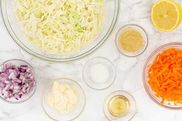Coleslaw ingrediënten