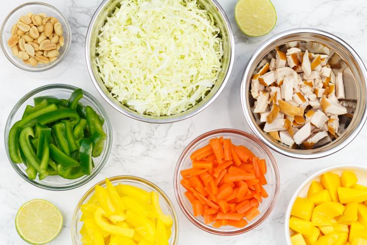 Groenten Thaise salade