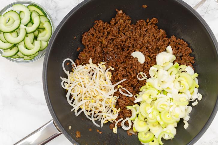 Ingrediënten Indische quiche