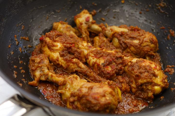 Rendang van kip recept