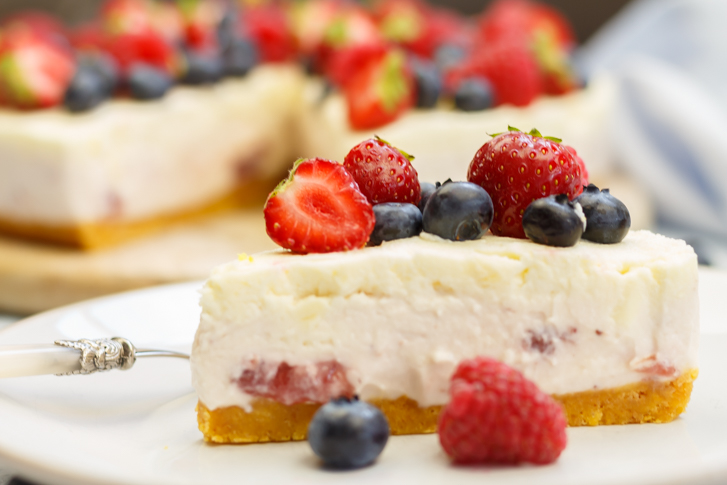 Witte chocolade cheesecake recept