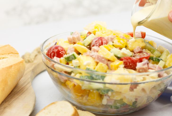 Hawaiiaanse pastasalade recept