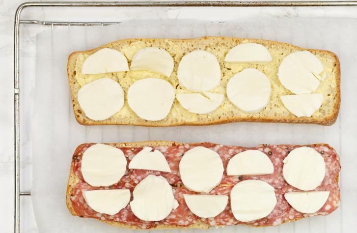 Pizzabrood maken