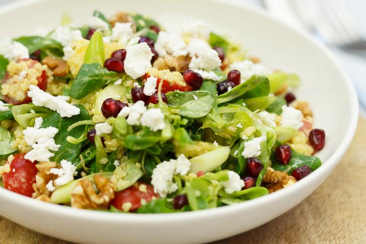 Quinoa salade maken