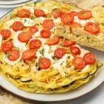 Frittata met courgette en pancetta