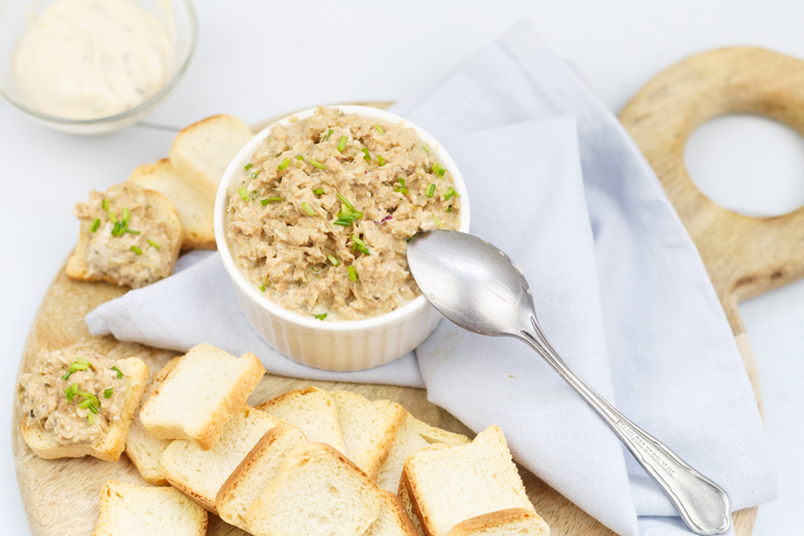 Tonijnspread recept