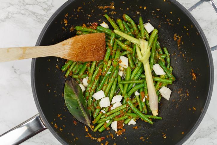 Sambal goreng boontjes recept