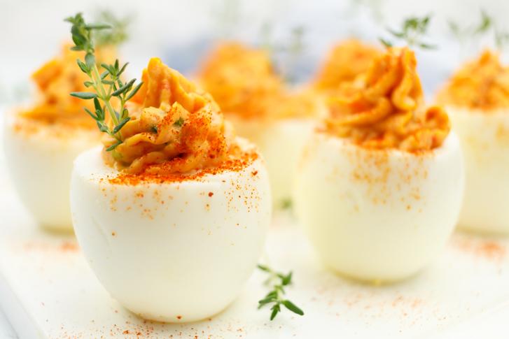 Gevulde eieren recept