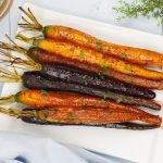 Gekarameliseerde wortels