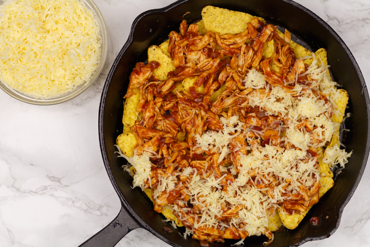 Pulled chicken bbq recept