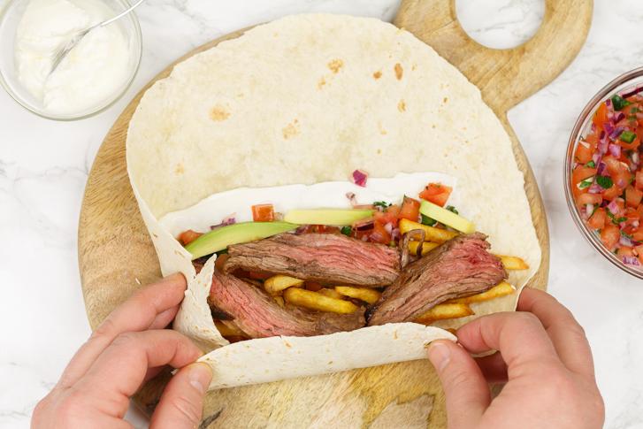 Burrito rollen