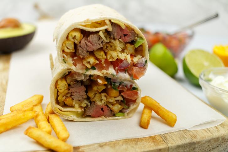 Burrito recept