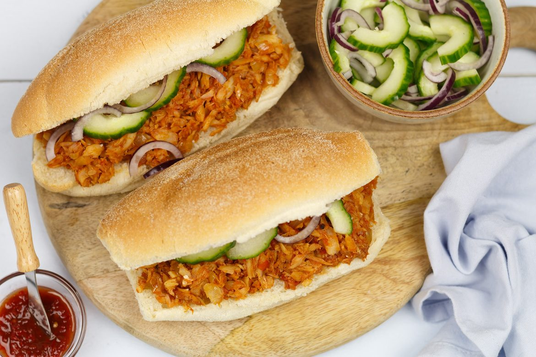 Ongekend Surinaams broodje bakkeljauw - Vis recept   SmaakMenutie BR-35